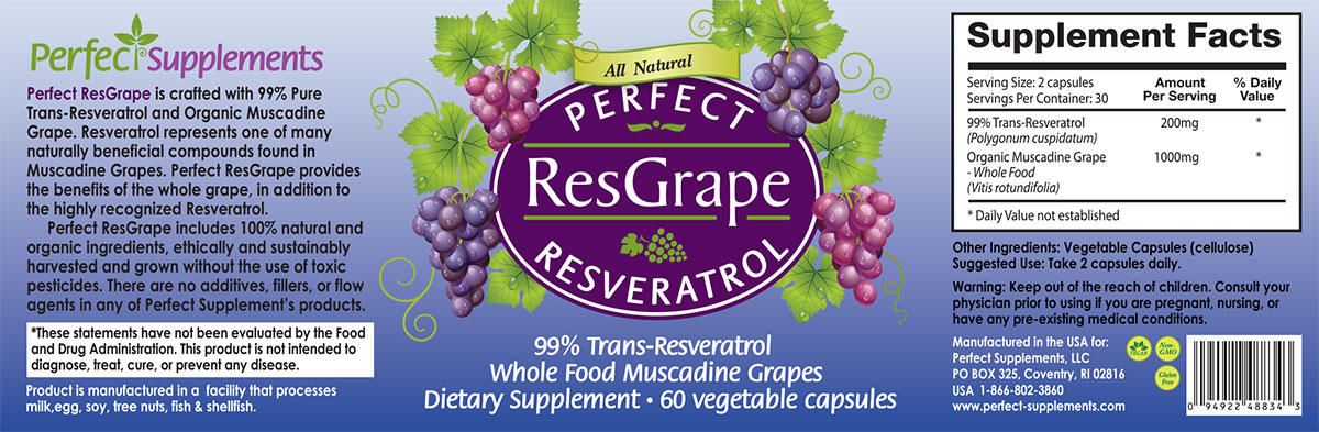 Perfect ResGrape Resveratrol