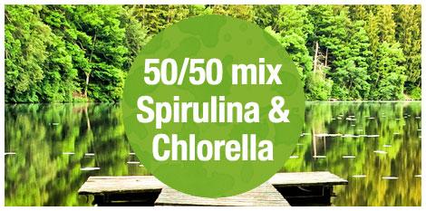 Aquatic Greens 100 Organic Spirulina Amp Chlorella
