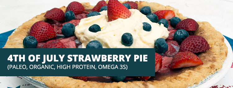 4th of July Strawberry Pie- Healthy Recipe With {High ...